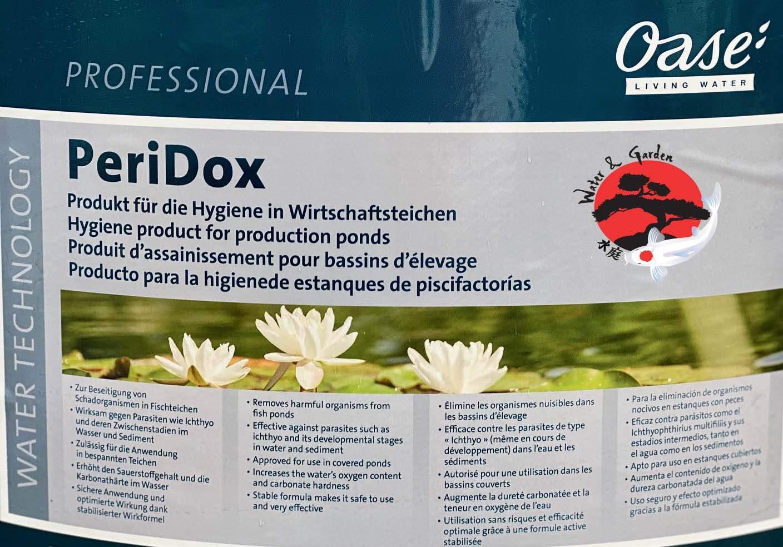 Oase PeriDox algaírtó, fertőtlenítő és parazitafertőzést kezelőszer